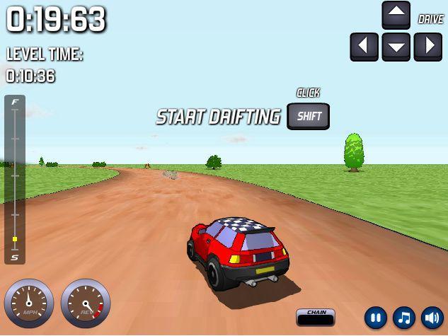 3D lenktynės