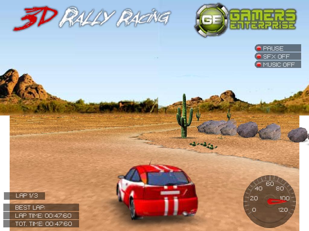 3D Rally lenktynės