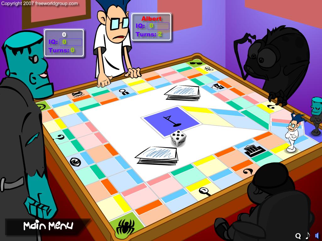 Adamsų šeimynėlės stalo žaidimas