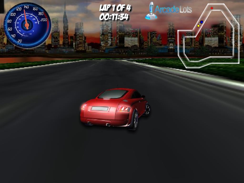 Audi 3D lenktynės