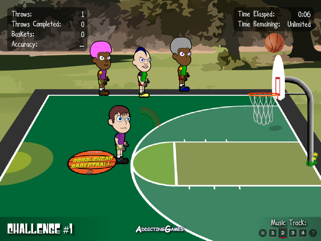 Burbulgalvių krepšinis
