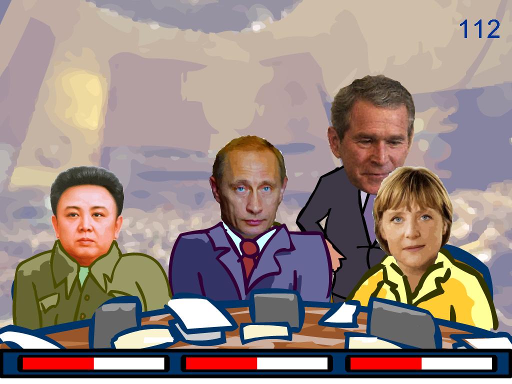 Bušo žaidimas - patenkink politikus