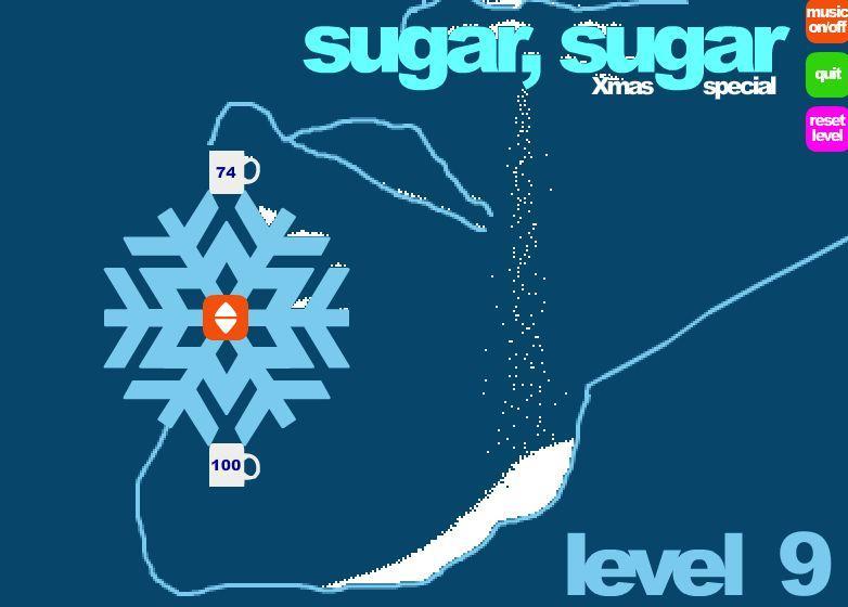 Cukrus. Kalėdinis žaidimas