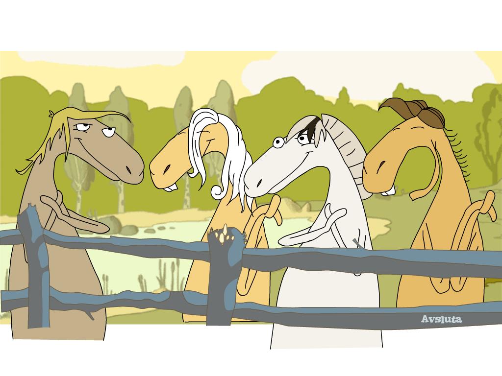 Dainuojantys arkliai