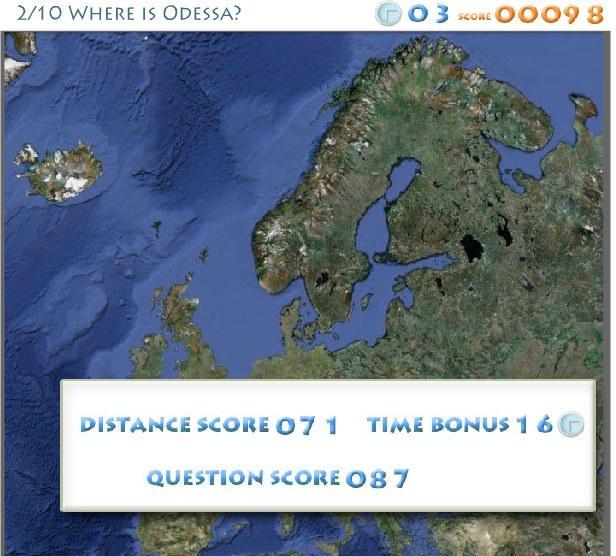 Europos miestai - kur jie yra?