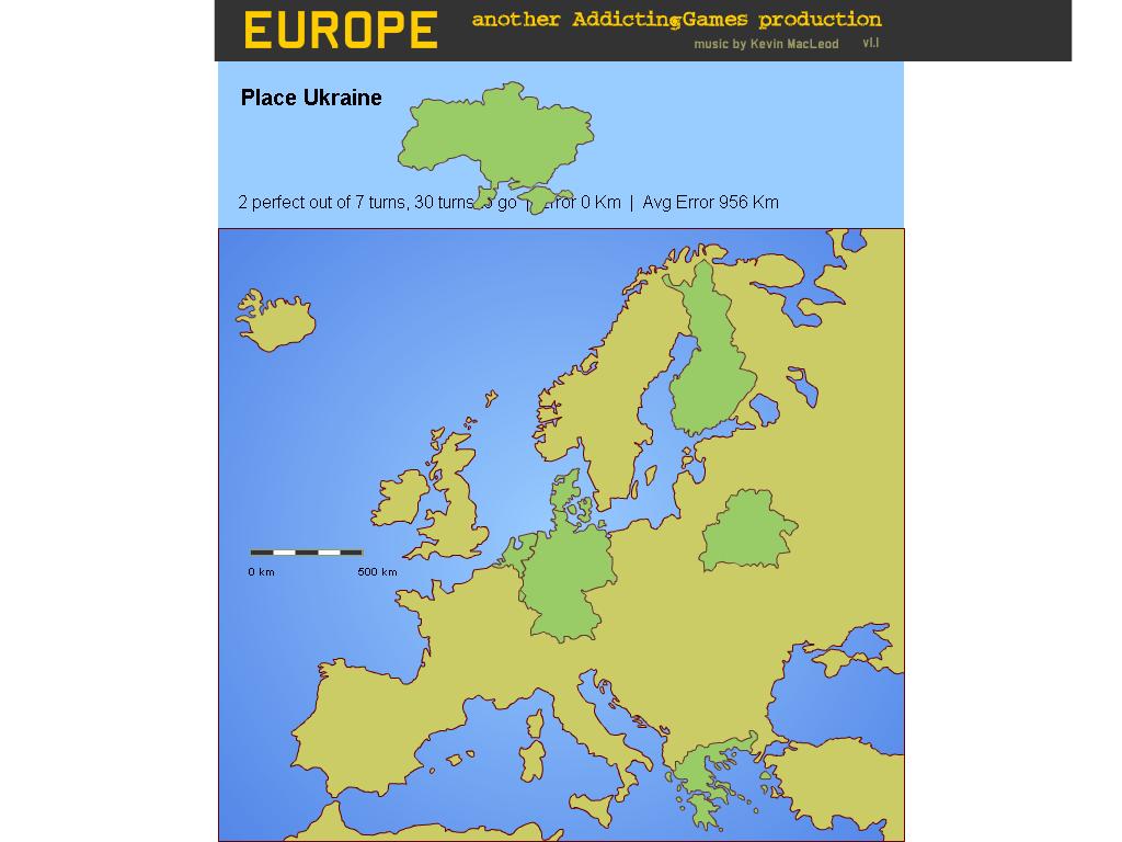 Europos žemėlapis