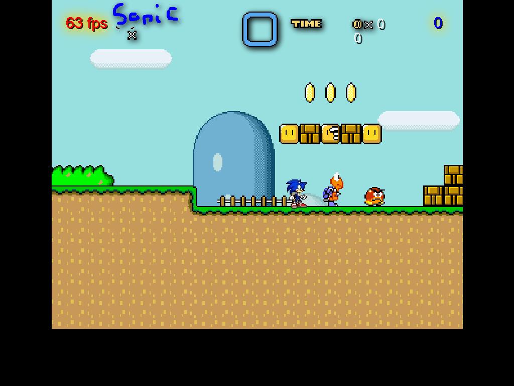 Ežys Sonikas Mario pasaulyje