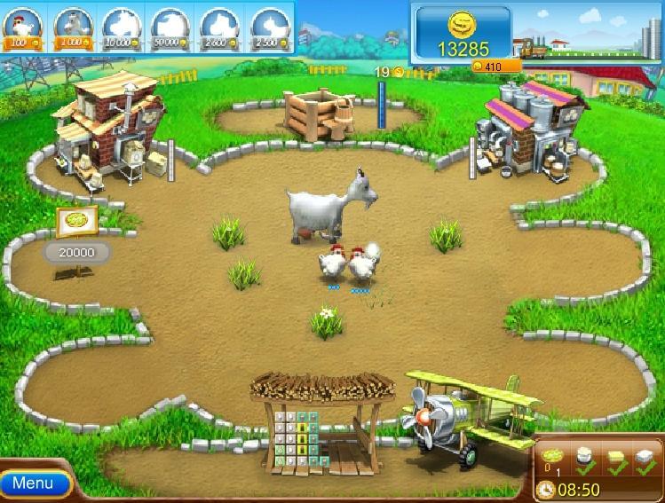 Веселая ферма колодец