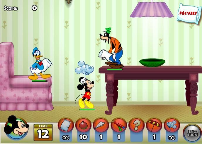 Gufis, Mikis ir Donaldas