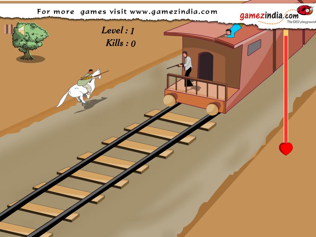 Indėnų šaudymas traukiny