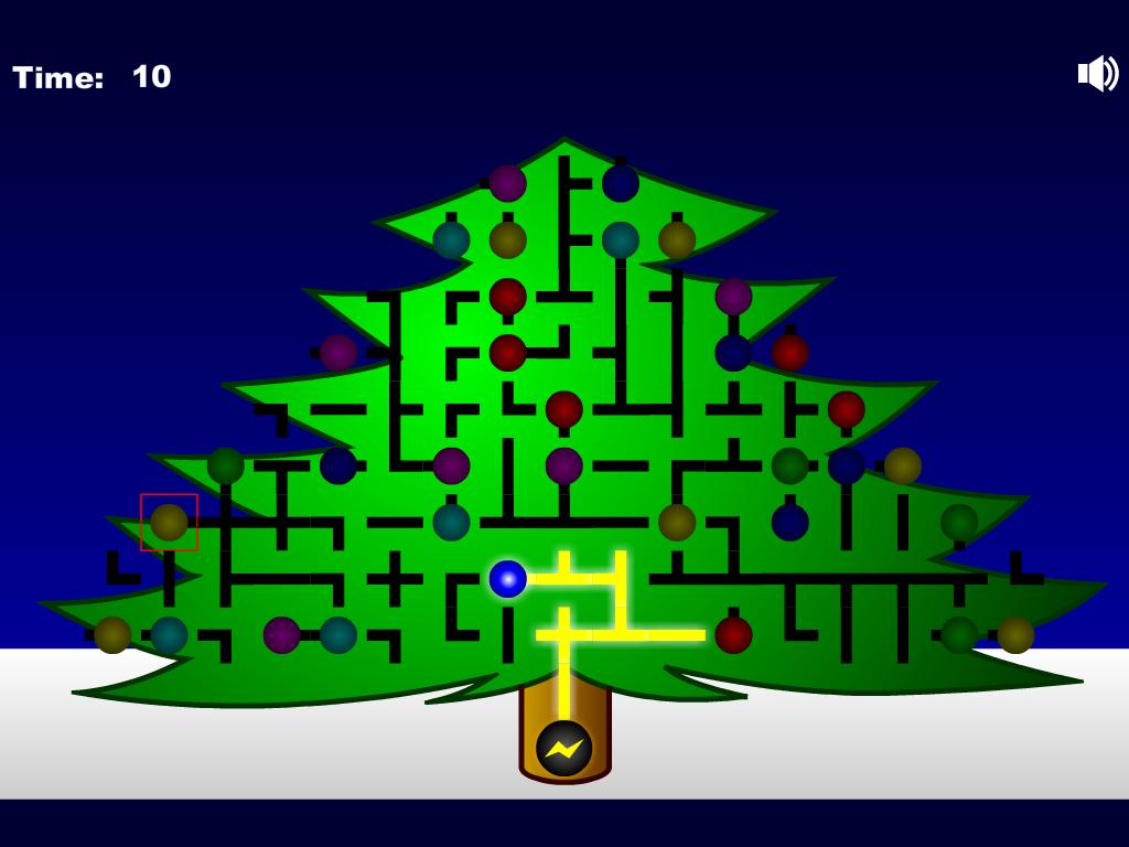 Kalėdinis labirintas