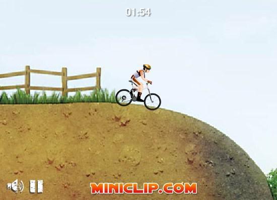 Kalnų dviračių žaidimas