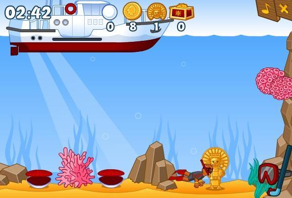 Lobiai jūros dugne