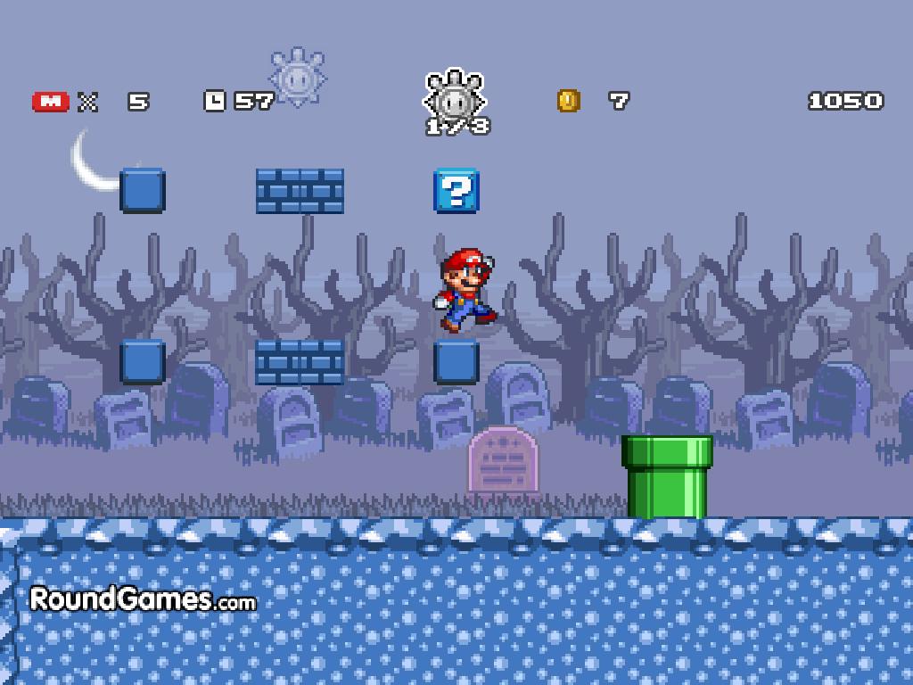Mario vaiduoklių saloje