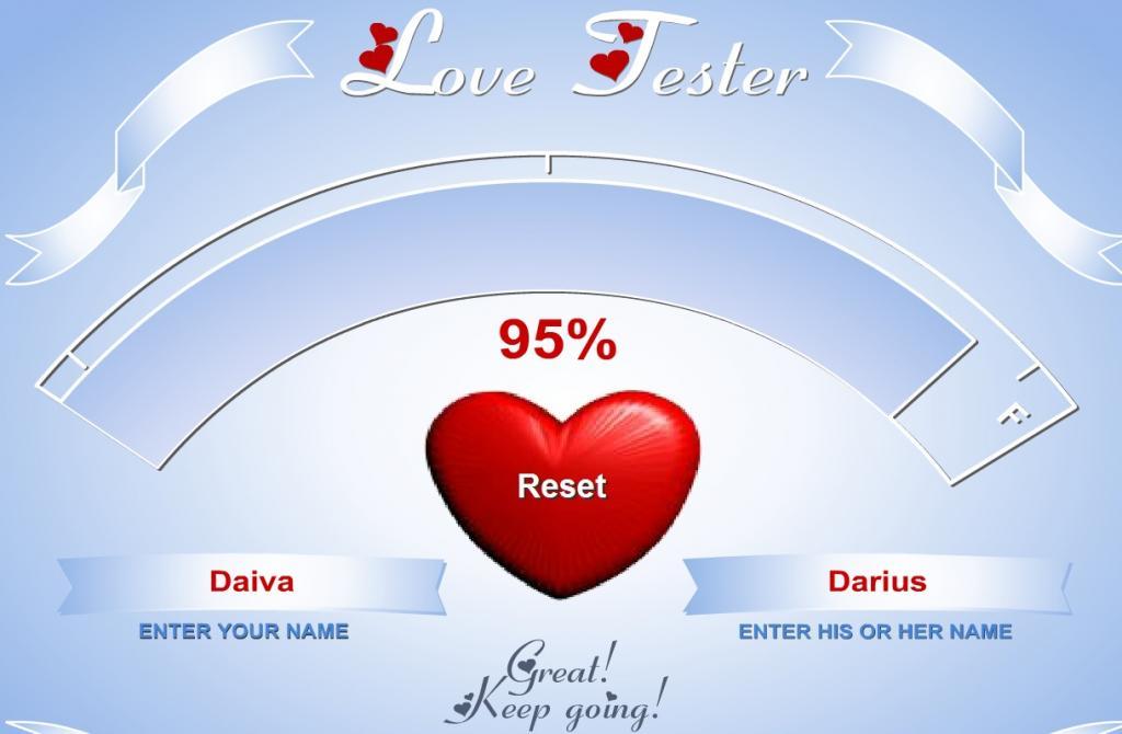 Meilės testas pagal vardą