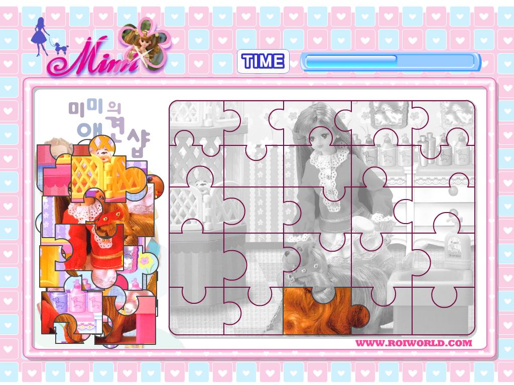 MIMI puzzle dėlionė