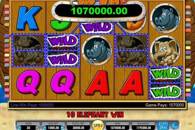 Nojaus arka - kazino lošimų automatas