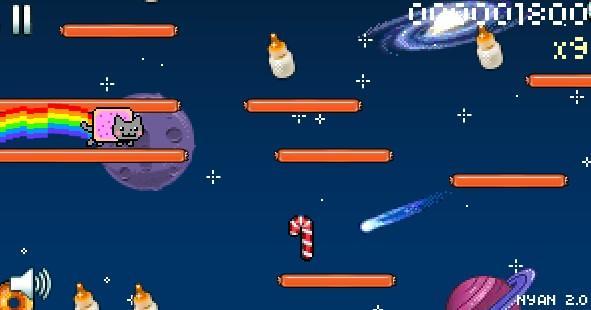Nyan katino žaidimas