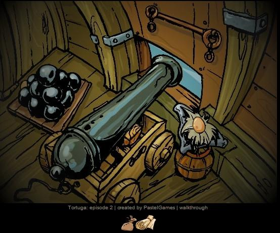 Pabėgimas iš piratų laivo