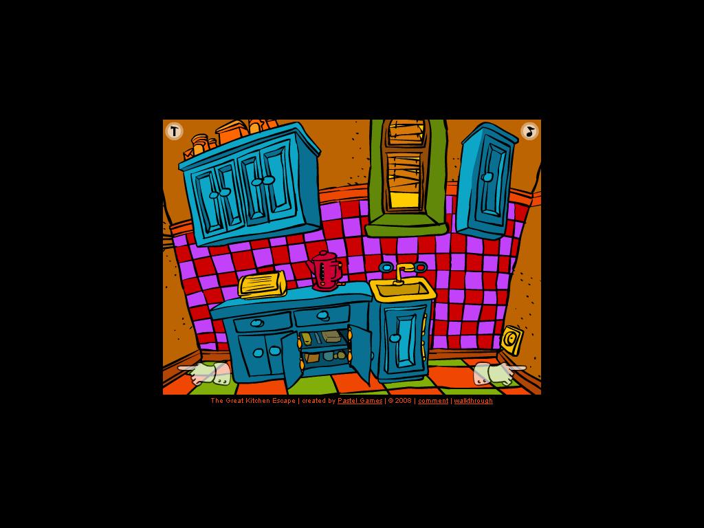 Pabėk iš virtuvės