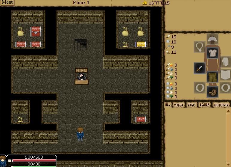 Požemių lobiai RPG