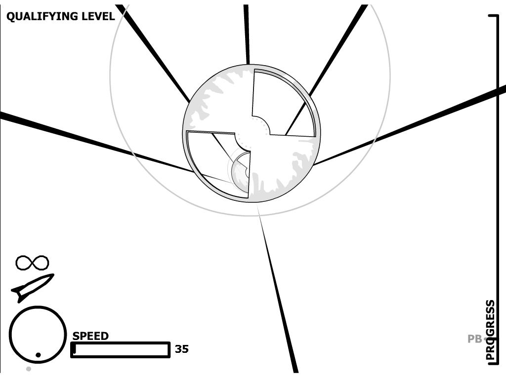 Raketų žaidimas 3D