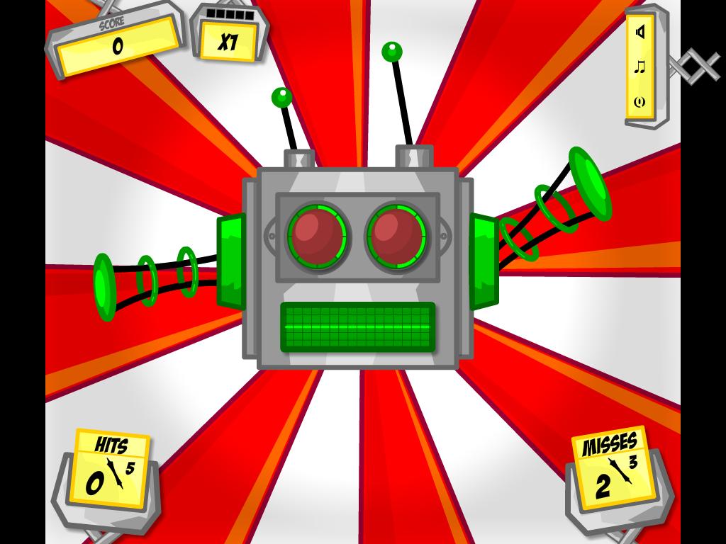 Raudonų mygtukų robotas