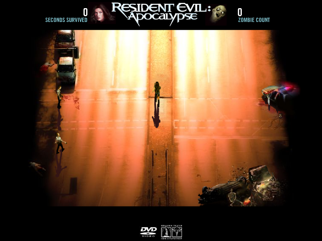 Resident evil šaudymai
