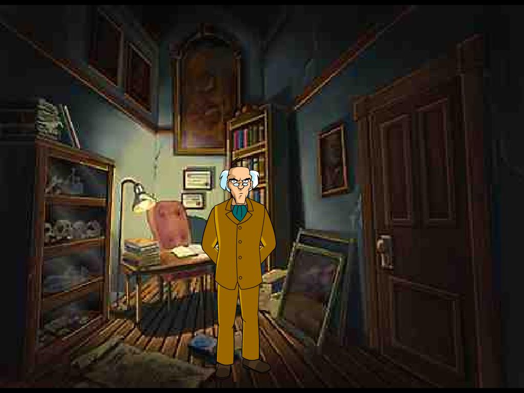 Seno namo detektyvai
