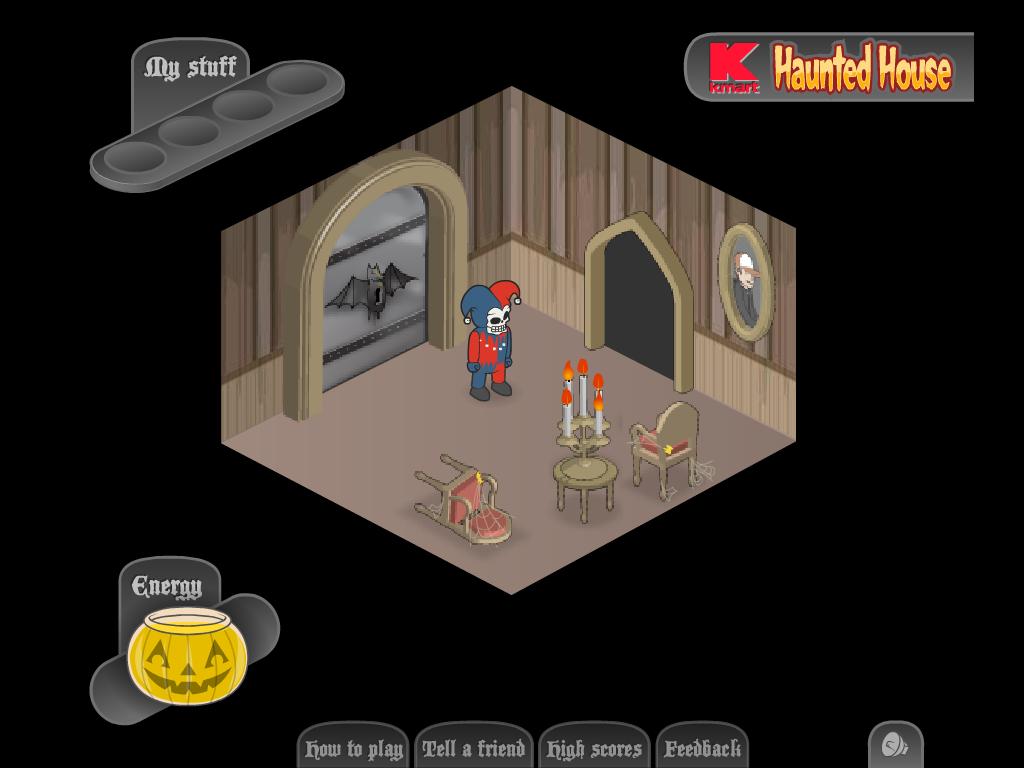 Siaubo zaidimas labirintas