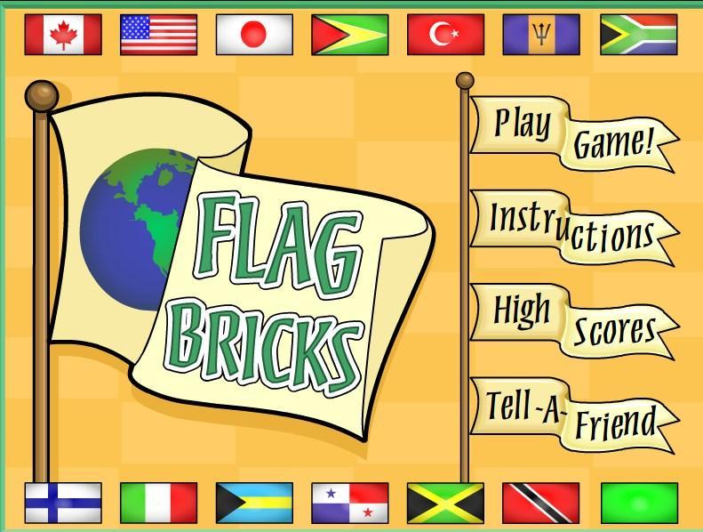 Surask vienodas vėliavas