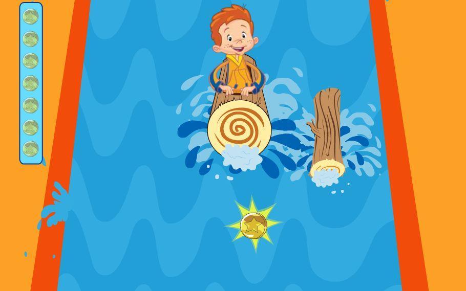 Vaikas krioklyje