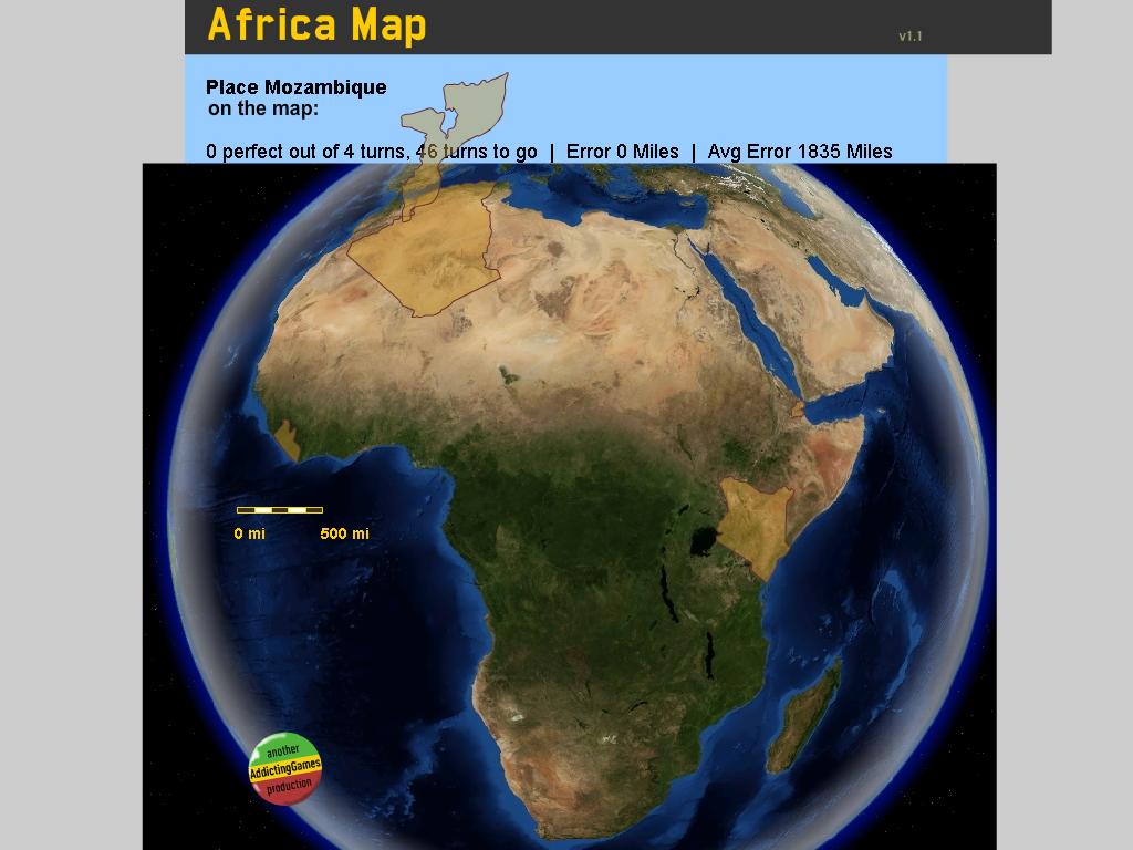 Afrikos žemėlapis