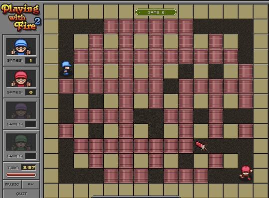 Žaidimas su sprogmenimis